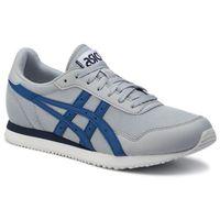 Asics Sneakersy - tiger runner 1191a207 piedmont grey/asics blue 020