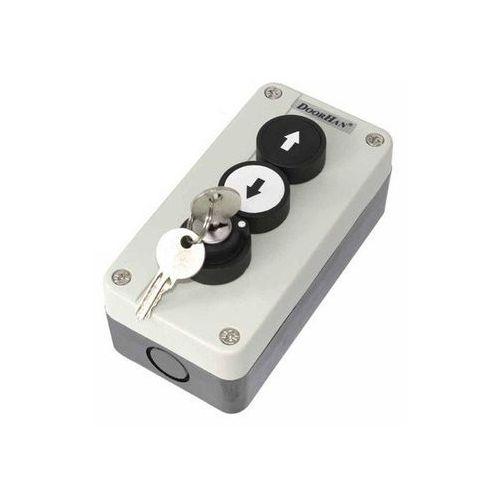 Doorhan Button-2k kaseta sterownicza z 3 przyciskami z kluczem