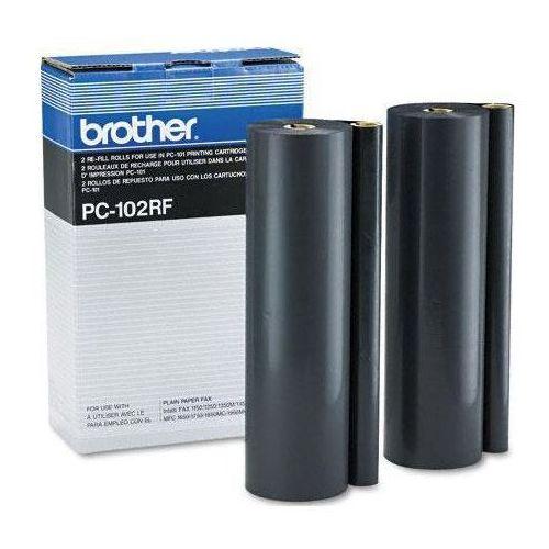 Brother folia termotransferowa Black 2 rolki PC102RF, PC-102RF, PC102RF