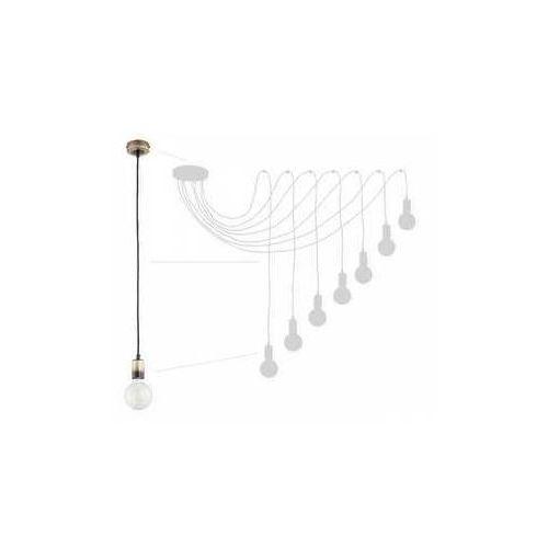 Lemir Maris O2757 W7 PAT lampa wisząca zwis pająk 7x60W E27 patyna, O2757 W7 PAT