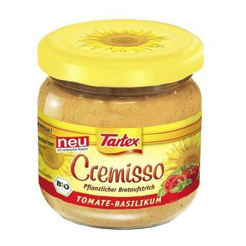 Tartex Pasta słonecznikowa pomidor - bazylia 180g bio -