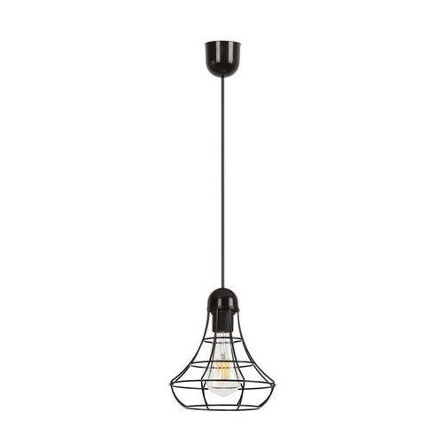 Lampa oprawa wisząca Rabalux Ramsey 1x60W E27 czarny 4649, 4649