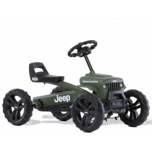 gokart na pedały buzzy jeep sahara ciche koła 2-5 lat do 30 kg marki Berg