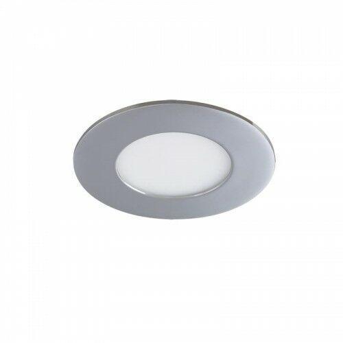 Lois 5 lat Gwarancji Chrom IP44 3W 4000K Oprawa wpuszczana LED Rabalux 5584