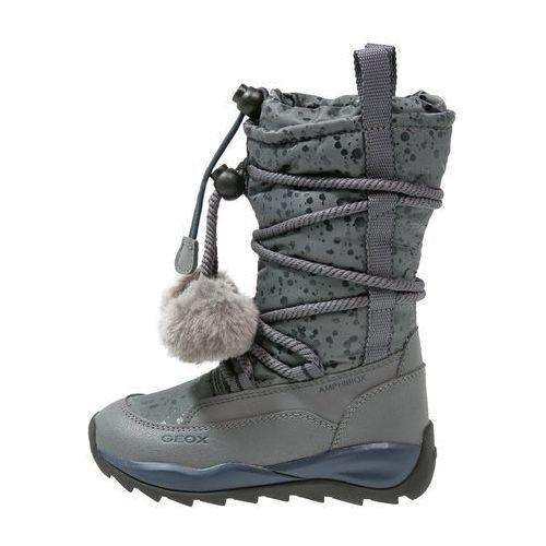 Geox ORIZONT Śniegowce grey z kategorii kozaczki dla dzieci
