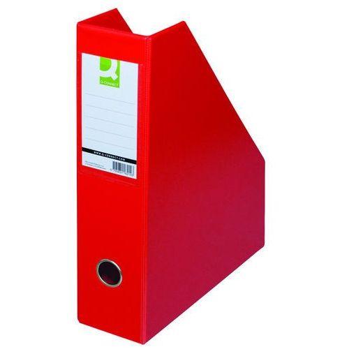 Q-connect Pojemnik na dokumenty , pvc, a4/76, czerwony