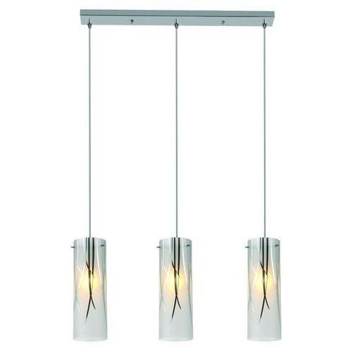Lampa wisząca LIGHT PRESTIGE Trentino LP-5110/3P Srebrny + DARMOWY TRANSPORT!, kolor Biały
