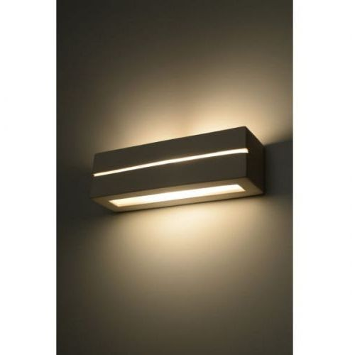 Sollux lighting Vega line kinkiet sl.0231 9cm biały