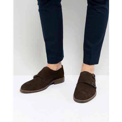 monk shoes in brown suede - brown marki Dune