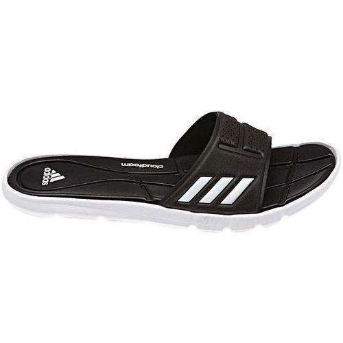 Klapki Adidas ADIPURE CF CLOUDFOAM (BB4558) - czarny/biały