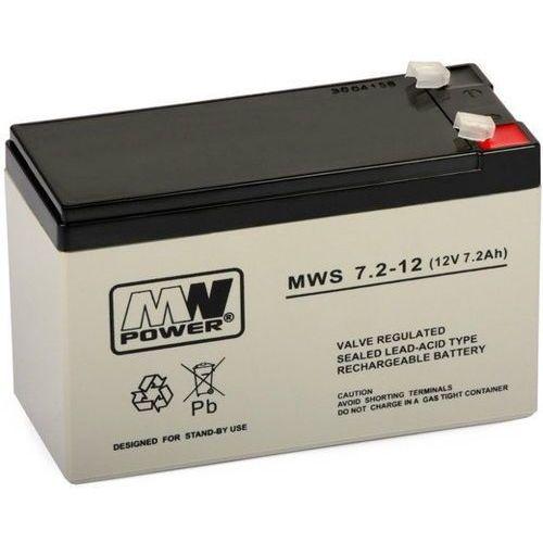 Akumulator 12V 7.2Ah żelowy MWS AGM, kup u jednego z partnerów