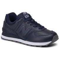 Sneakersy - ml574snu granatowy, New balance, 40-46.5