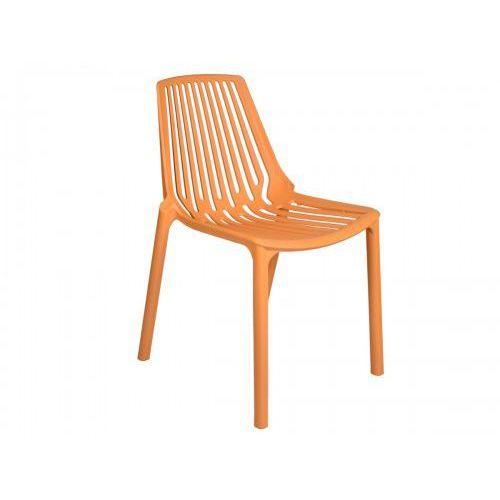 Krzesło Tulon - pomarańczowy, GK-0765