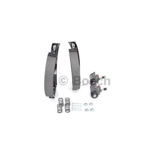 kit superpro, zestaw szczek hamulcowych + cylinderek hamulca koła; zamontowany; z tyłu, 0 204 114 543 marki Bosch