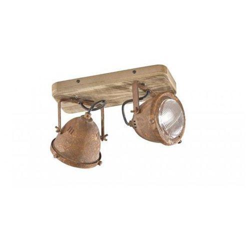 old lampa ścienna ciemnobrązowy, 2-punktowe - - obszar wewnętrzny - old - czas dostawy: od 3-6 dni roboczych marki Honsel