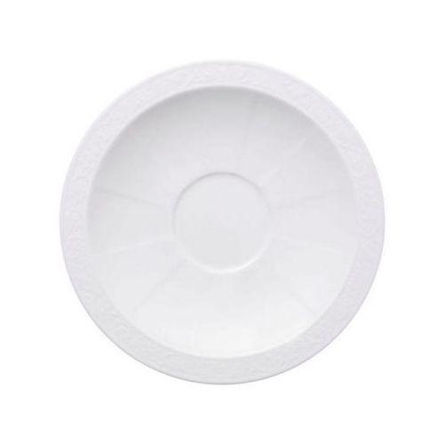 Villeroy & Boch - White Pearl Spodek do filiżanki śniadaniowej średnica: 18 cm