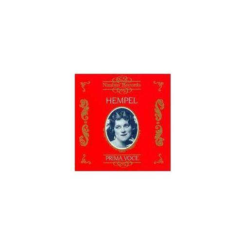 Nimbus Hempel, frieda / prima voce (0710357784927)