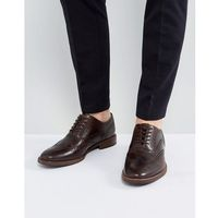 bartolello leather brogue shoes in brown - brown marki Aldo