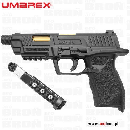 Pistolet wiatrówka  ux sa10 4,5mm - blow back, śrut bb i diabolo, szyna ris, co2, marki Umarex