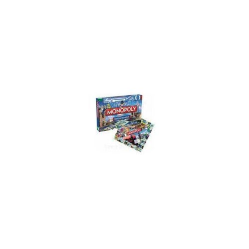 OKAZJA - Winning moves Hasbro monopoly kraków ang (27564) (5036905027564)