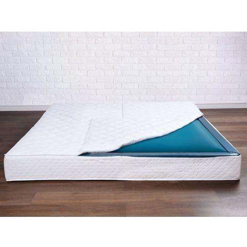 Beliani Materac do łóżka wodnego, mono, 180x220x20cm, mocne tłumienie
