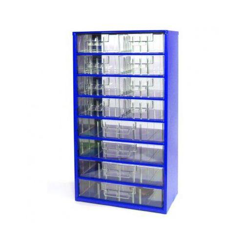 Metalowe szafki z szufladami, 8+4 szuflad