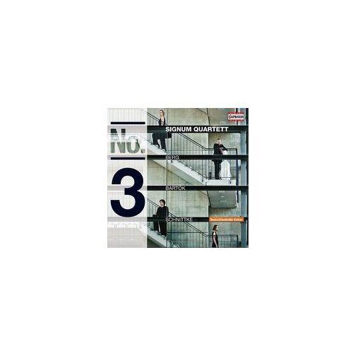 Berg, bartók & schnittke: string quartets no. 3 & op. 3 marki Capriccio