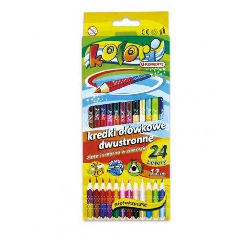 Penmate Kredki ołówkowe kolori 24 kolory