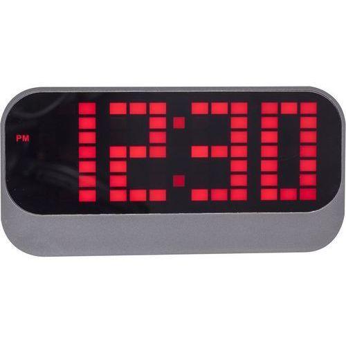 NeXtime - Zegar stojący Loud Alarm - czerwony, kolor czerwony