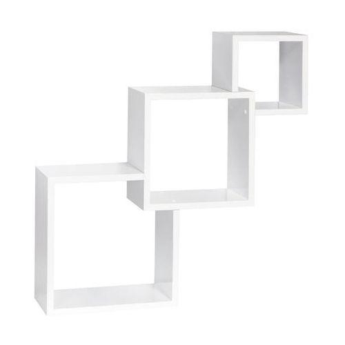 Dolle Półka ścienna caskade biały połyst 65 x 65 cm (4007557113227)