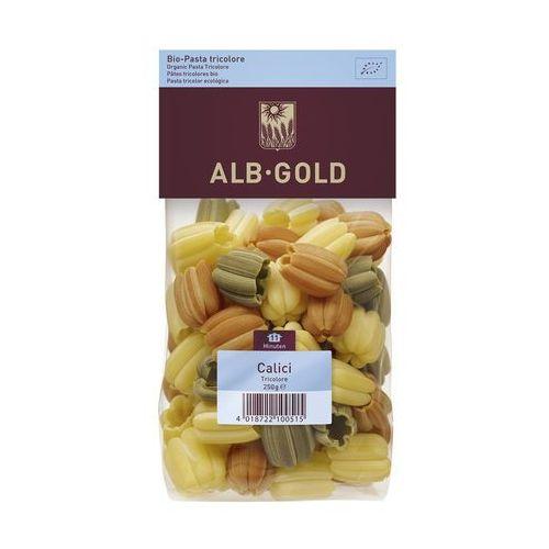 Makaron CALICI (tulipan) trójkolorowy BIO 250g - ALB GOLD, 4018722100515