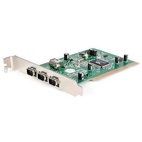 Startech.COM PCI1394 _ 4 interfejs PCI Card (3 X gniazdo FireWire 400), PCI1394_4