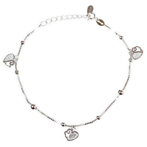 Biżuteria damska ze srebra SAXO Bransoletka srebrna SB.042.01