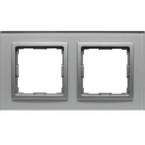 Kos - elektro system sp. z o.o. Vena2:xglass srebrny ramka x2 (5901845819817)