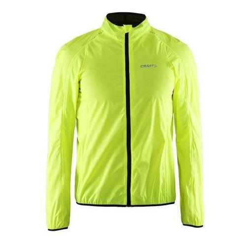 CRAFT MOVE męska kurtka rowerowa przeciwdeszczowa 1902578-2851 kolor: fluorowy
