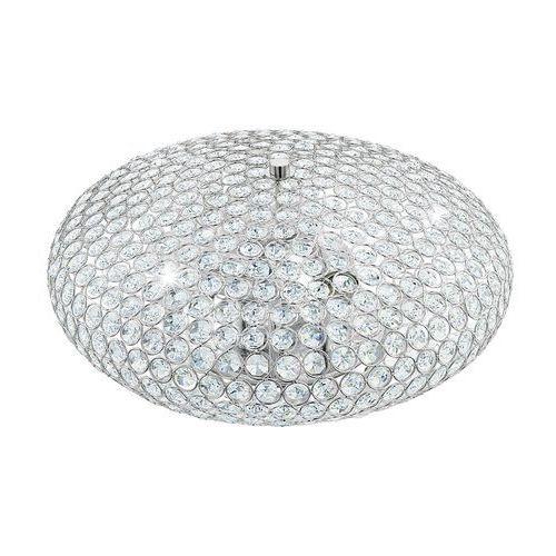 Eglo 95285 - kryształowa lampa sufitowa clemente 3xe27/60w/230v