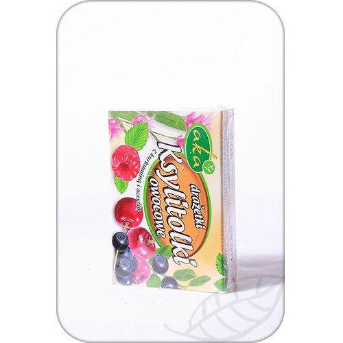 : drażetki ksylitolki owocowe - 40 g marki Aka