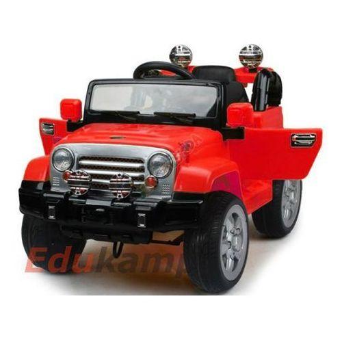 Auto na akumulator JEEP 2x35W Gumowe Koła! + Gratis!