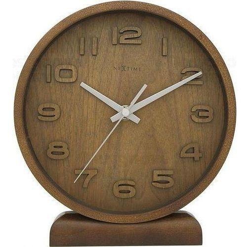 Zegar stołowy Wood Wood Small naturalne drewno, 5192br