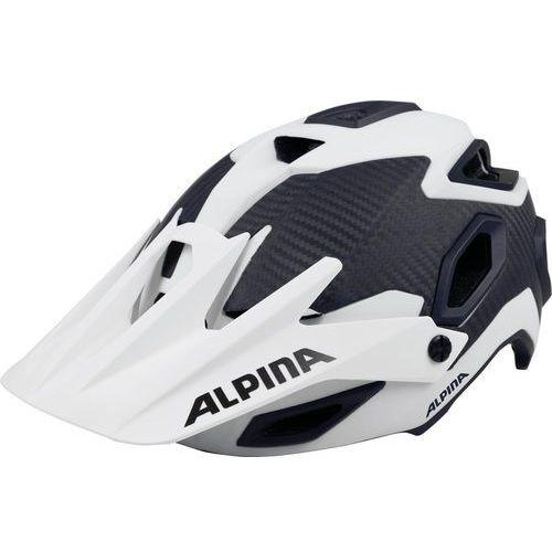 Alpina rootage kask rowerowy biały/czarny 57-62cm 2018 kaski rowerowe