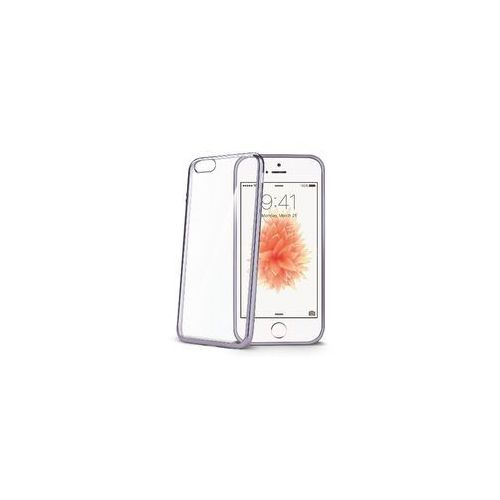 Celly BCLIPSEDS Laser Cover do Iphone SE, Ciemno-srebrny
