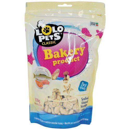 Lolo Pets Ciastka dla psa - łosoś 350g