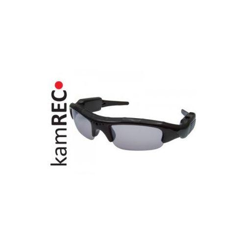Kamrec Okulary szpiegowskie z kamerą 640x480 microsd