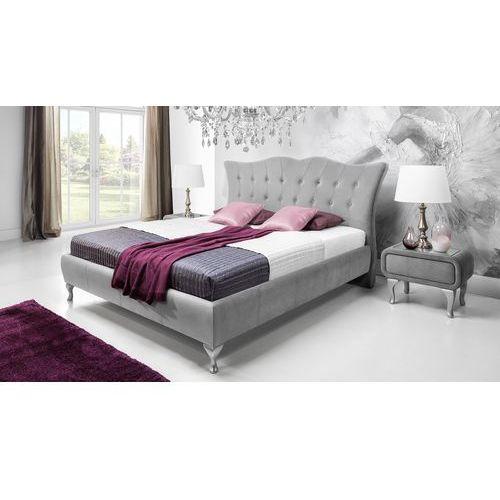 Łóżko tapicerowane princessa marki New elegance