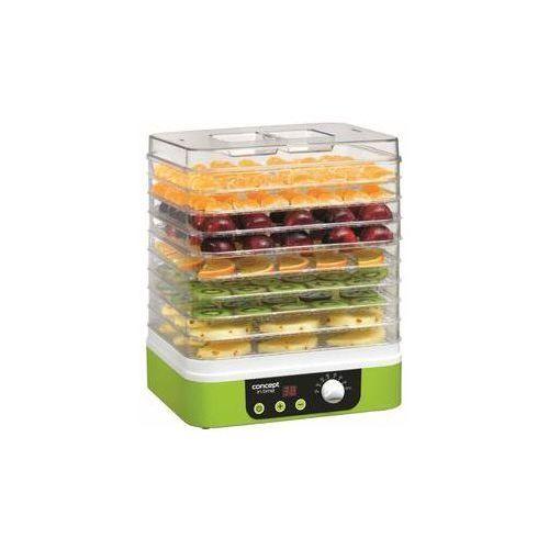 Suszarka do grzybów, owoców i ziół so-1060 biała/zielona marki Concept