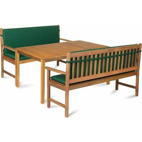zestaw mebli ogrodowych calypso 6l zielony marki Fieldmann