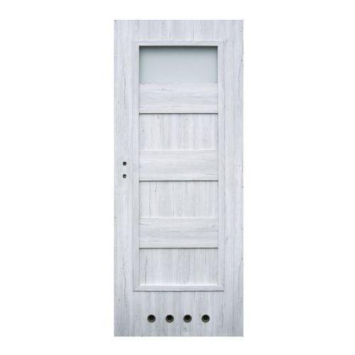 Winfloor Drzwi z tulejami kastel 80 prawe silver (5907539385545)