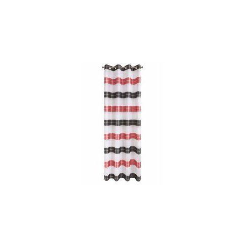 Zasłona Dekoracyjna Eurofirany EDITH Czerwony 140x250 140x250