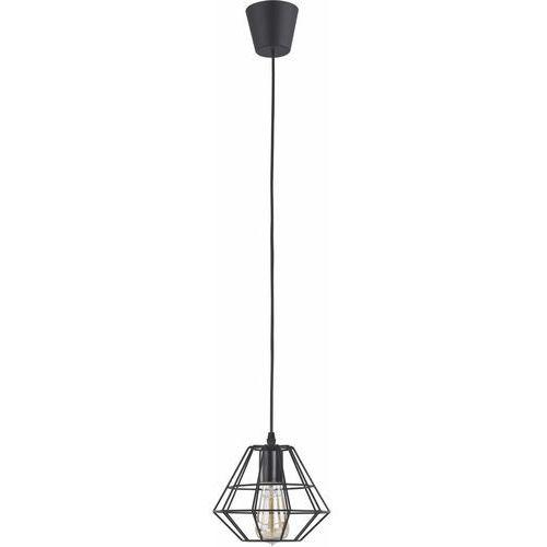 Lampa wisząca druciana zwis żyrandol diament TK Lighting Diamond 1x60W/E27 szary 2002, 2002