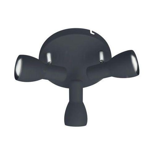 Candellux Plafon lampa oprawa sufitowa picardo 3x40w e14 czarny matowy 98-50793 (5906714850793)
